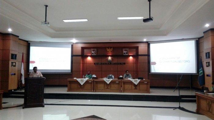 Badan Pengelolaan Geopark Pulau Belitung Dikukuhkan