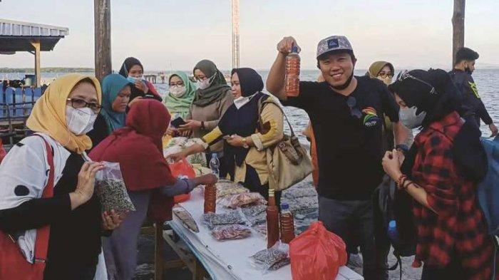 Ngayau Mendanau Bersama ASPPI Babel, Belanja Oleh-oleh Khas di Dermaga Tanjung Nyato