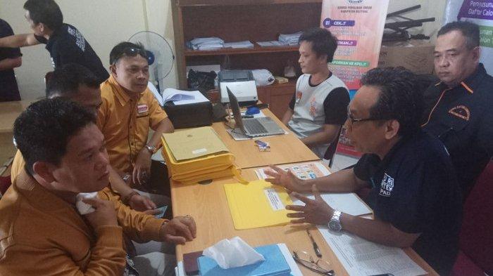 Hanura Partai Pertama Daftarkan Pencalonan Legislatif di KPU Kabupaten Belitung