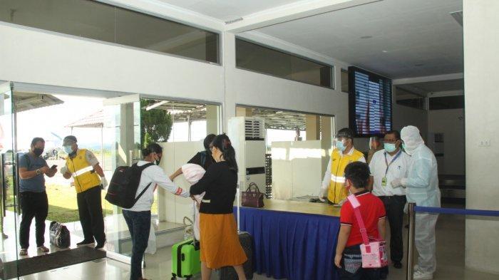 PSBB di Jakarta, Pergerakan Orang di Bandara HAS Hanandjoeddin Alami Penurunan