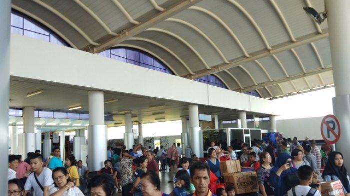 Belum Sampai Puncak Mudik, Penumpang di Bandara Depati Amir Naik 8 Persen