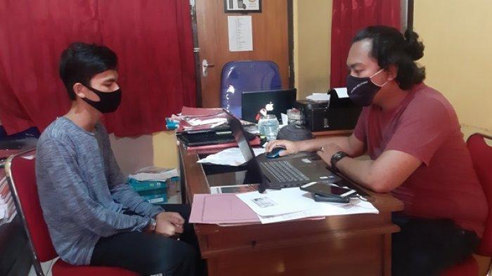 Tak Sudi Ditatap, Sapis Tusuk Penjual Ikan di Pasar Tanjungpandan