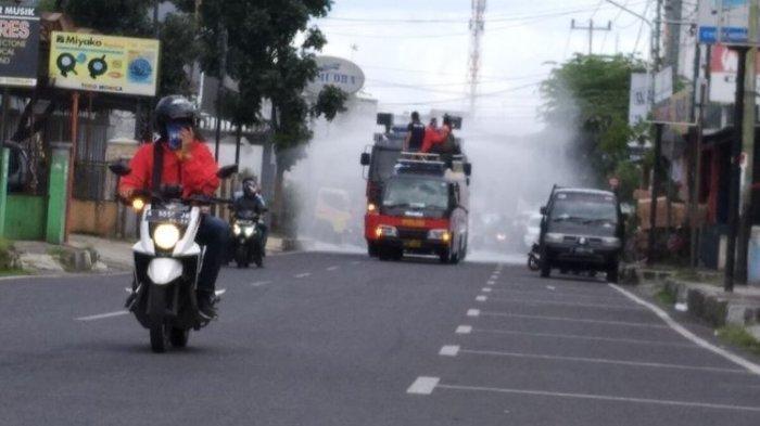 Penyemprotan Cairan Disinfektan Berdampak Pada Cak Mobil, Dilapisi Coating Lebih Aman