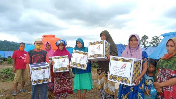 Sriwijaya Air Group Peduli Serahkan Bantuan Kemanusiaan bagi Masyarakat Luwu Utara