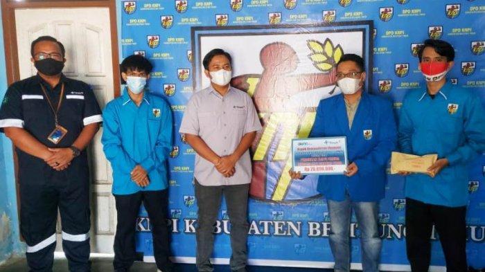 PT Timah Serahkan Bantuan Dukung Program Kartu Pemuda KNPI Belitung Timur