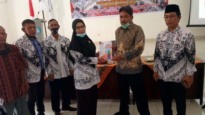 PGRI Belitung Timur Gelar Konferensi Kerja Kabupaten 2020