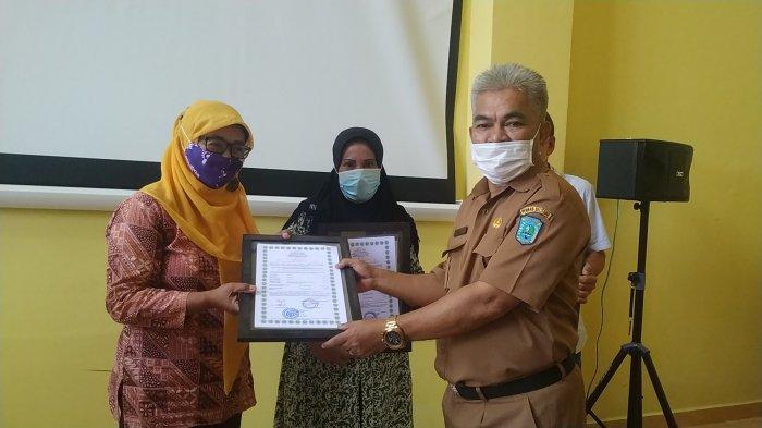 Usaha Mi Basah dan Sambal Lingkong di Belitung Dapat Sertifikat Halal