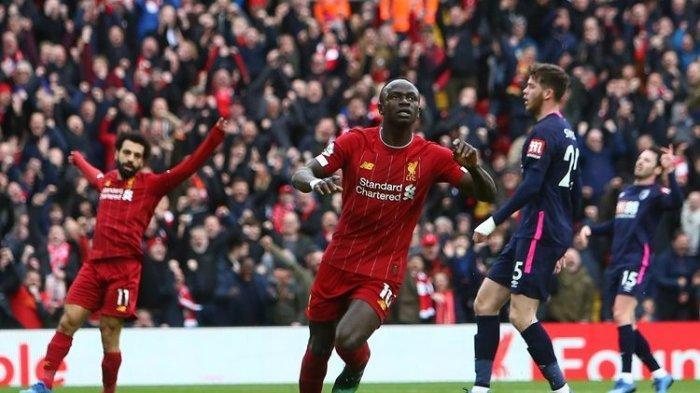 Menang Lawan Bournemouth, Liverpool Makin Dekati Gelar Liga Inggris