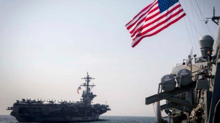 Gawat! Korut Ancam Tenggelamkan Kapal Induk AS