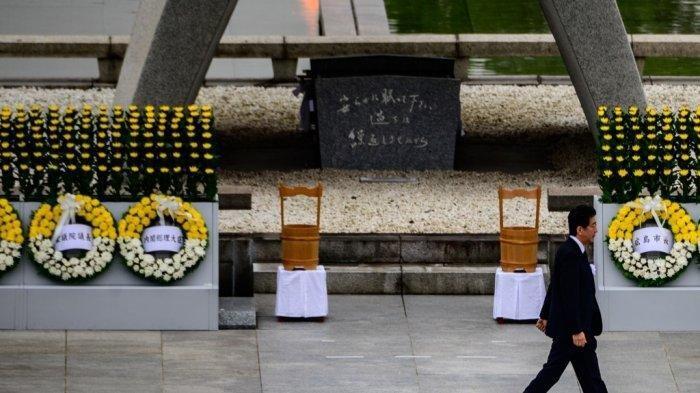 Di Tengah Pandemi Covid-19, Jepang Peringati 75 Tahun Serangan Bom Atom di Hiroshima-Nagaskai