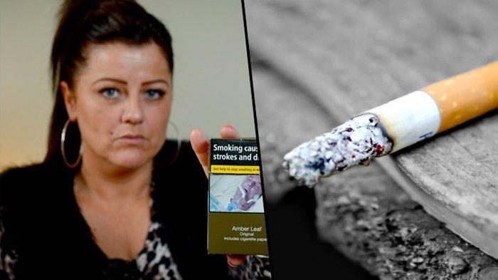 Wanita Ini Kesal Temukan Sosok Penting Dalam Hidupnya di Bungkus Rokok