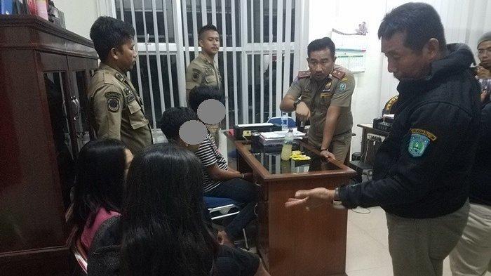 BREAKING NEWS: Pol PP Belitung Amankan 2 Siswi SMK dan 4 Pemuda Dalam Keadaan Mabuk