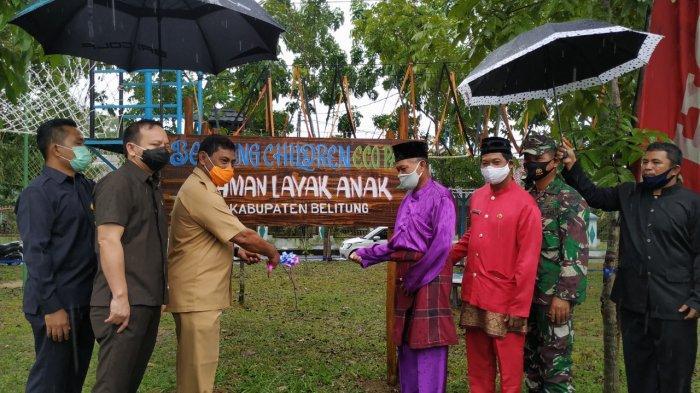 Bupati Belitung Buka Festival Pangkallalang, Dimeriahkan dengan Makan Bedulang Hingga Masak Gangan - peresmian-festival-pangkallalang-1.jpg