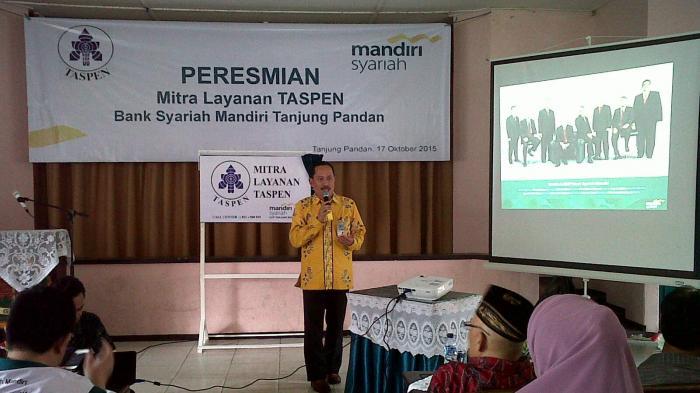 BSM Mitra Layanan Taspen di Belitung