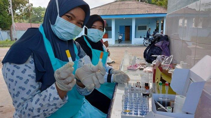 Dinas Kesehatan Belitung Timur Uji Takjil di Lima Titik Kota Manggar, Ini Hasilnya