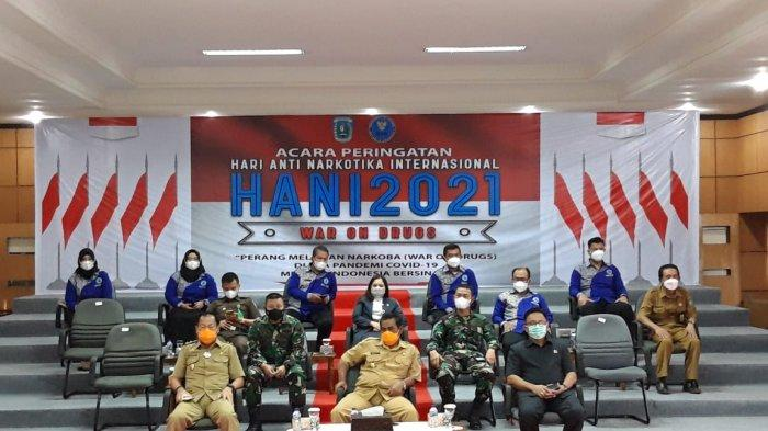 Peringatan HANI 2021 Secara Virtual, BNN Kabupaten Belitung Sambut Baik Program Bersinar