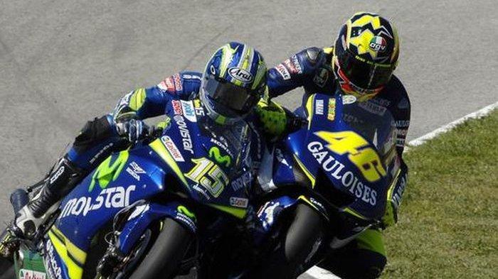 Sumpah 'Sakti' Valentino Rossi yang Berujung Kenyataan Kepada Pembalap Spanyol, Tak Berkutik