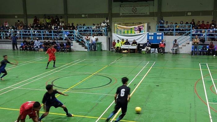 Sangat Sengit, Nurul Bawa Agas FC ke Semifinal Turnamen Futsal Pelangi Cup III