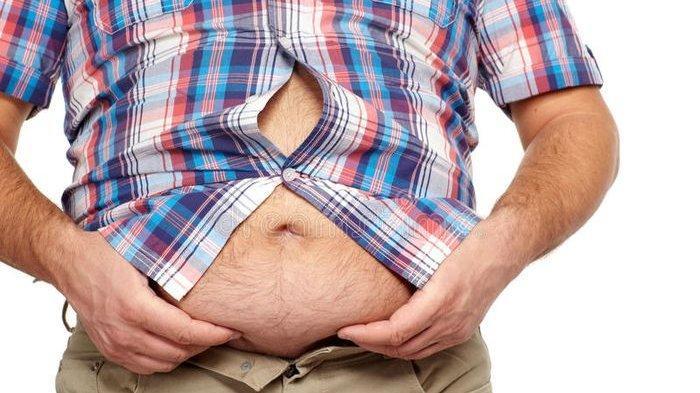 Khawatir Perut Buncit? Tanda Banyak Lemak, Juga Pertanda Kurang Vitamin D