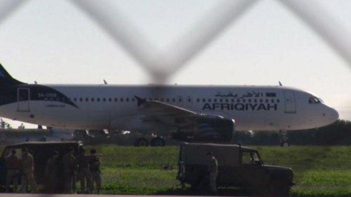 Tim Perundingan Siaga di Bandara Malta, Ini Yang Dilakukan Terhadap Para Pembajak
