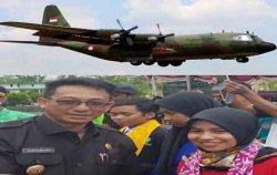 Ratusan Mahasiswa Jakarta Naik Hercules, Malaysia Pakai Pesawat Komersil ke Beltim, Lakukan Ini