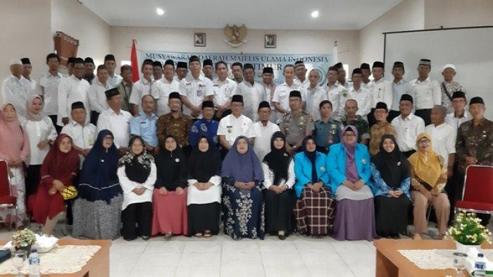 Musda MUI Kabupaten Belitung Timur 2019 Pilih Ketua yang Baru