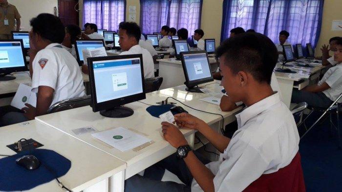 2.755 Siswa di Bangka Tengah Ikut Ujian Nasional 23 April