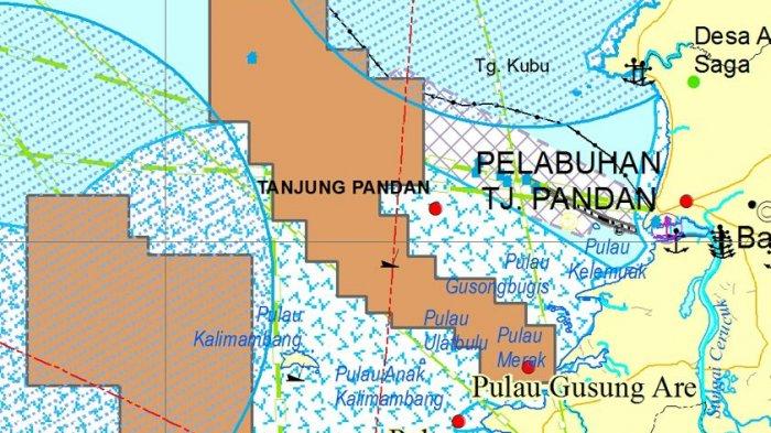 Kawasan Wisata Belitung Masuk Peta Zonasi Pertambangan Laut, Bupati Bilang Begini - peta_20171108_141806.jpg