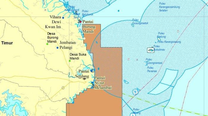 Kawasan Wisata Belitung Masuk Peta Zonasi Pertambangan Laut, Bupati Bilang Begini - peta_20171108_141858.jpg