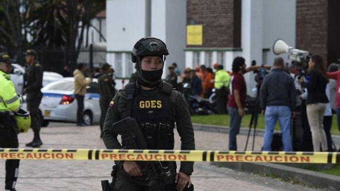 Teror Bom Bunuh Diri di Akademi Polisi Kolombia, 21 Orang Tewas