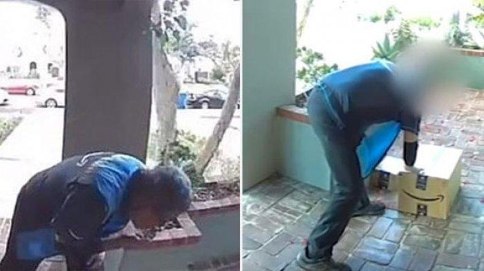 Pria ini Curiga Ada Ludah di Paket Kiriman Barang, Takut Corona, Cek CCTV, Terbongkar Aib Pelakunya