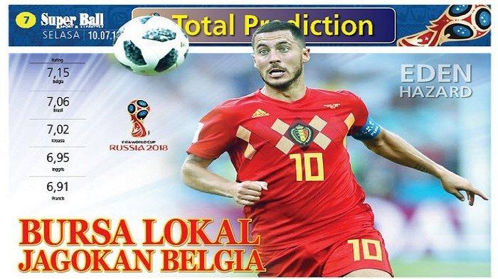 Kontra Prancis di Semi Final, Belgia Diunggulkan Bursa Lokal