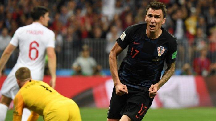 Gol Mandzukic ke Gawang Inggris, Hantarkan Kroasia ke Final Tantang Prancis