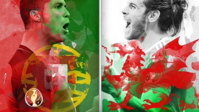 Duel Cristiano Ronaldo VS Gareth Bale Ada di Semifinal Piala Eropa 2016