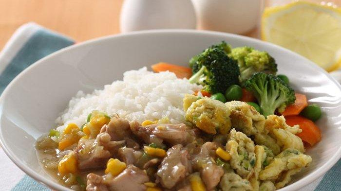 Chicken Egg Rice, Menu Sarapan Spesial yang Mudah Dibuat