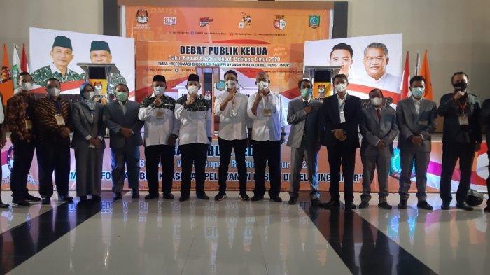 Debat Publik Kedua Pilkada Belitung Timur Sukses