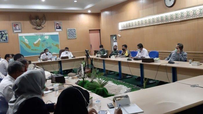 Pasca Tunda Tiga Bulan, Panitia Kabupaten Belitung Kembali Gelar Rakor Pemantapan Pilkades Serentak