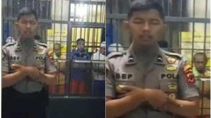 Polisi Ini Dipanggil Kapolri Jenderal Idham Azis Setelah Jadi Imam Narapidana dari Balik Jeruji