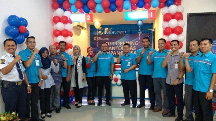 Soft Opening Kantor Kas Bank Sumsel Babel Simpang Pesak