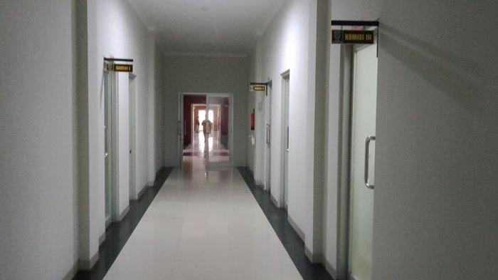 Begini Suasana Gedung DPRD Belitung Setelah Tiga Anggota Dewan Dinyatakan Positif Covid-19