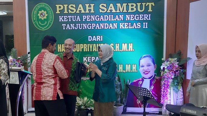 Jabat Ketua PN Tanjungpandan, Himelda Sidabalok Targetkan Raih Predikat WBK