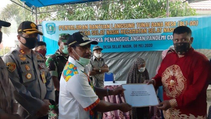 Aparatur Desa Selat Nasik Terima Usulan 292 KK, Hanya 51 KK Jadi Penerima BLT-Dana Desa
