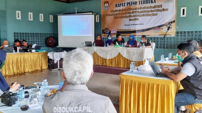 Ini Jumlah DPT Belitung Timur untuk Pemilihan Bupati dan Wakil Bupati Beltim 2020
