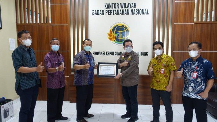 PLN Tingkatkan Sinergi dengan BPN Provinsi Bangka Belitung Guna Percepat Pengamanan Aset