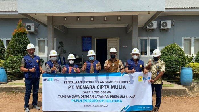 PLN Sambung Listrik Smelter Timah di Belitung, Bangkitkan Ekonomi
