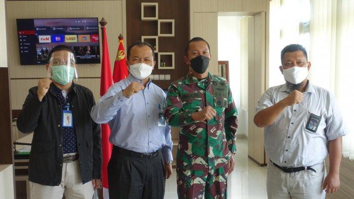 PLN Bersilaturahmi ke Korem 045/Gaya Siap Bersinergi Majukan Bangka Belitung