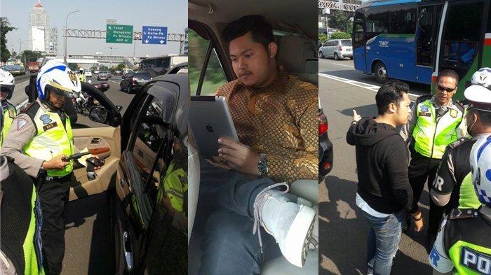 Warganet Serbu Akun FB Pemuda yang Acungkan Pistol di Tol Dalam Kota, Ini Profilnya