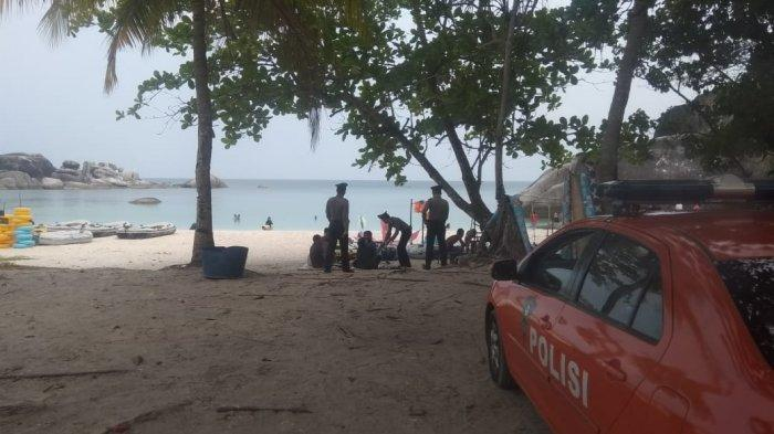 Direct Flight Dibuka, Polres Belitung Tingkatkan Keamanan Destinasi Wisata