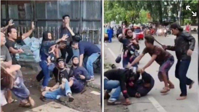 Aksi Berani Bripka Herry Tangkap Pembawa Senjata Tajam, Jungkir Balik Rampas Parang