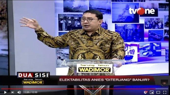 Politisi Fadli Zon Ungkit Janji Jokowi sebelum Jadi Presiden: Banjir Jakarta Bakal Beres
